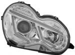 M.BZ C CLAS W203 00 Head Lamp W/Light Bar & LED indication